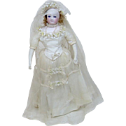 "Turn of the Century 20"" French Fashion Bride Doll"