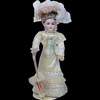 "18.5"" Perfect Simon & Halbig Fashion Edwardian Doll"