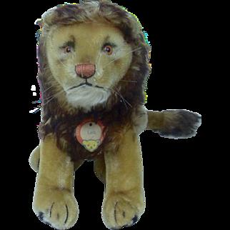 Large Size Sitting Steiff Leo Lion