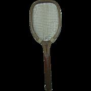 Turn of the Century American Harry C. Lee Tennis Racket