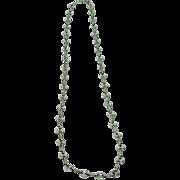 Vintage Silver Gucci Necklace