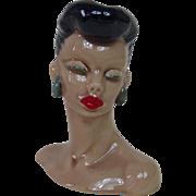 1940's Dorothy Kindell Island Woman Head Vase
