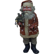 1920's German Short Coat Santa Candy Container 20""