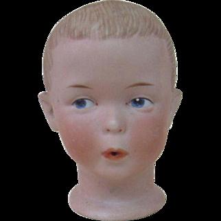 German Heubach Number 5 Whistler Doll Head