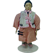 Turn of the Century Chinese Door of Hope Mini Doll in Nice Condition