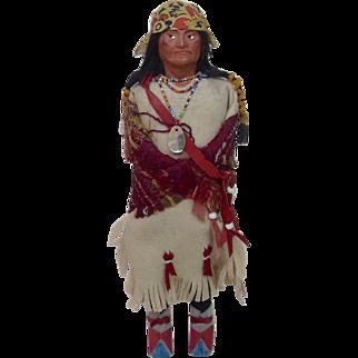Native American Skookum with Beautiful Details