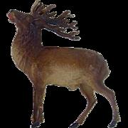 German Dresden Christmas Ornament Elk Sold As Is