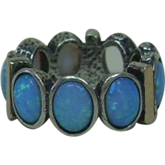 Beautiful Opal Ring in As Is Condition