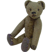 Early 1900's German Jointed Teddy Bear 8.5""