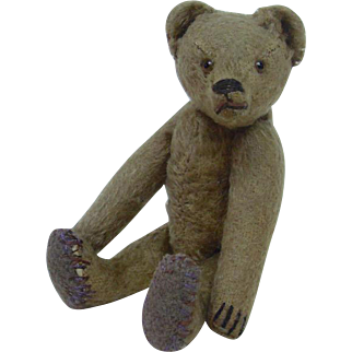 """Early 1900's German Jointed Teddy Bear 8.5"""""""