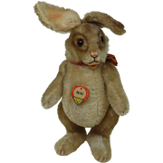 Beautiful all Original 12 inch  1950s Steiff Niki  Rabbit Chest Tag No Button