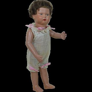 14 inch Original Condition Schoenhut Walking doll. 1911