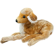 1960s German Steiff Baby Fawn Laying Down