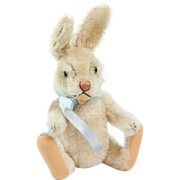 "1950s German Steiff ""Niki"" Bunny Rabbit 9"""