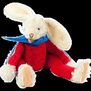 1972 Munich Olympics Steiff Lulac Patriotic Bunny Rabbit