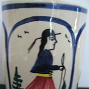 Quimper Coffee Mug HB Henriot Breton Man