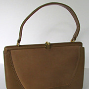 Vintage Retro 1960s Kelly Style Handbag by Palizzio