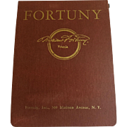 Vintage Mid-Century Fortuny Sample Book - Red Tag Sale Item