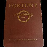 Vintage Mid-Century Fortuny Sample Book