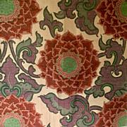 VIntage Larsen 1970s Silk Fabric