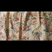 Vintage Lee/Jofa Floral Linen Print