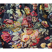 "Classic Brunschwig & Fils Chintz, 1.5 Yards ""Westbury Bouquet"""