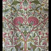 Scalamandre Documentary William Morris Print, Circa 1884