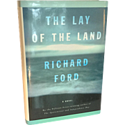 """1st Edition Richard Ford """"The Lay of the Land"""""""