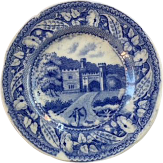 Entr. to Blaize Castle, Minton Miniature Series Plate