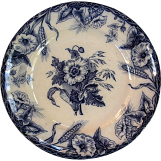"""""""Ceres"""" pattern plate by Davenport"""