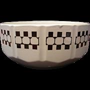 Czech Art Deco Style Bowl