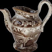 Davenport Child's Set Teapot Milkmaid pattern