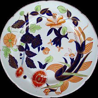 Imari Type Davenport plate