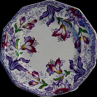 Lush Lily plate