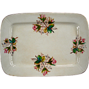 Moss Rose Early Ironstone Large Platter