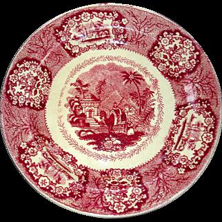 """Oriental""  plate by Maastricht"