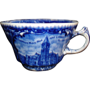 Souvenir of Pittsburg cup by Rowland & Marcellus