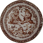 Punch Child's Set plate