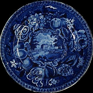 """""""Easing Park,"""" Surrey: Historic Blue plate"""