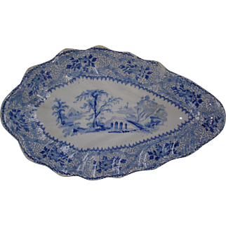 Pickle Dish Seine Pattern
