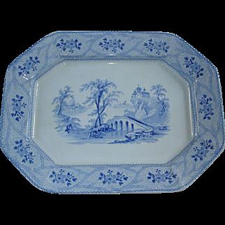 Seine pattern by John Wedg Wood Platter