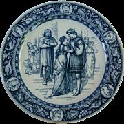 """""""Ivanhoe"""" plate by Josiah Wedgwood"""