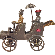 Early automotive French penny toy