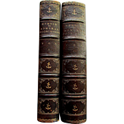 Antique Books - Volume I & II  - MEMOIR - Life of Admiral Sir Edward Codrington - 1873