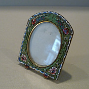 Vintage Italian Micro Mosaic Picture Frame - Red Tag Sale Item