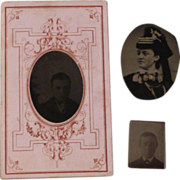 Collection of Vintage Tintypes