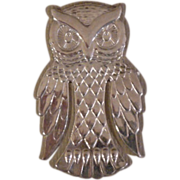 Sterling Silver Reed & Barton Owl Bookmark - Red Tag Sale Item