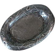 James W. Tufts Silver Plate Silverplate Bread Tray
