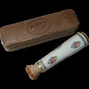 Antique Porcelain Hermetos Letter Stamp Moistener