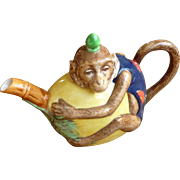 Royal Doulton Commemorative Minton Monkey Teapot